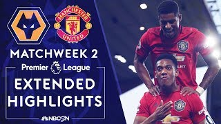 Wolves v. Manchester United   PREMIER LEAGUE HIGHLIGHTS   8/19/19   NBC Sports