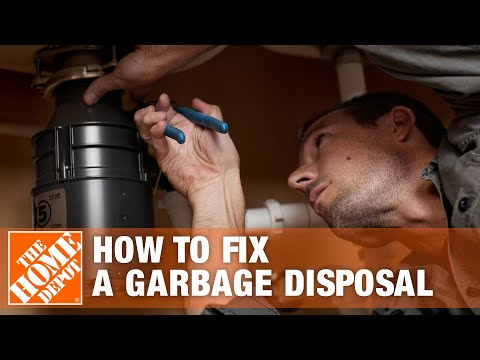how to fix a garbage disposal the