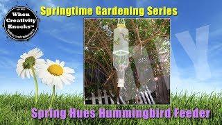 Spring Hues Hummingbird Feeder