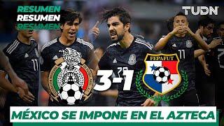 Resumen y Goles   México 3 - 1 Panamá   CONCACAF Nations League   TUDN
