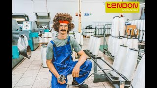 How TENDON ropes are made with Adam Ondra