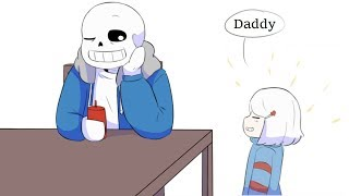 Daddy You are so funny and cute【 Undertale Animation - Undertale Comic dubs 】
