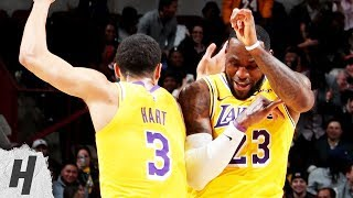 Los Angeles Lakers vs Chicago Bulls - Full Game Highlights   March 12, 2019   2018-19 NBA Season