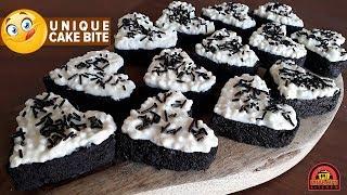 CRUNCHY CAKE BITE WITHOUT OVEN | बिलकुल नई और आसान केक रेसिपी बनाइए बिना ऑवन के