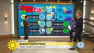 Marcus: ″Just nu är allt udda och unikt – så även budgetomröstningen″ - Nyhetsmorgon (TV4)