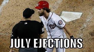 MLB   2017 July Ejections ᴴᴰ