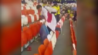 Japan Fans Clean Stadium After World Cup Win