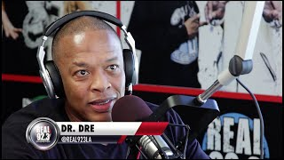 Dr. Dre Full Interview on new NWA Movie, Easy E, and more