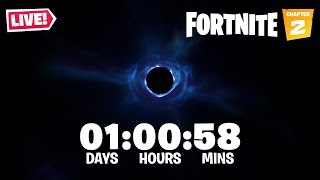 FORTNITE BLACK HOLE EVENT LIVE!! New Season 11 Battle Pass & Map Leaked! (Fortnite Battle Royale)