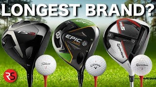 Which is the LONGEST golf brand?