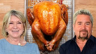 Which Celebrity Has The Best Turkey Recipe?