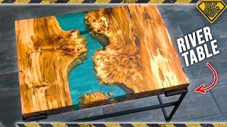Resin River Handmade Table