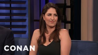 D'Arcy Carden Feels Emotional About ″The Good Place″ Ending - CONAN on TBS