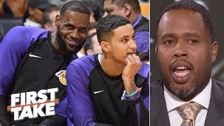 LeBron, Lakers can give Warriors a run for their money – Damon Jones   First Take