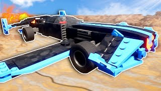 TRANSFORMING CAR RACE! - Brick Rigs Multiplayer Gameplay