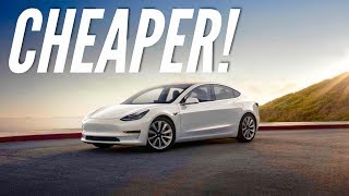 Tesla Model 3 just got Cheaper! + More changes to the lineup