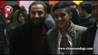 اولین حضور مشترک هومن سیدی و آزاده صمدی بعد از اعلام خبر جدایی شان/گزارش افتتاحیه فیلم «سیزده»