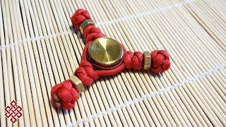 How to Make a Paracord Hand Spinner (Tri-Spinner) Fidget Toy Tutorial