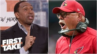 Bruce Arians hiring by Bucs gives Stephen A. 'cause to pause' | First Take