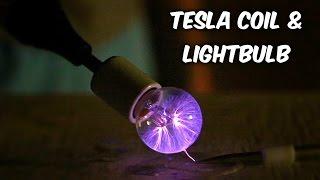 How to Make Plasma Ball Out Of Light Bulb