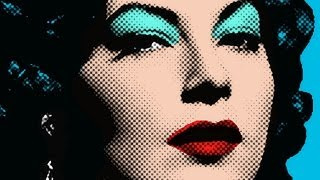 Photoshop Tutorial: How to make a POP ART portrait from a Photo!