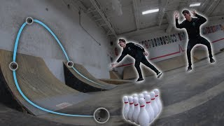ULTIMATE MINI BOWLING TRICKSHOTS!