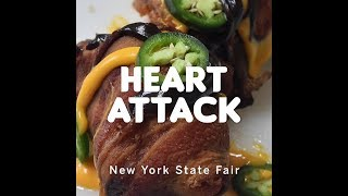 How it's made: NY State Fair food, Heart Attack