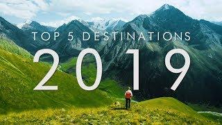 5 BEST Travel Destinations For 2019 | UNILAD Adventure