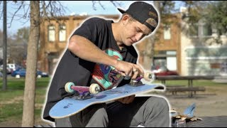 Setting up a new skateboard