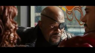 Scarlett Johansson Clip Iron Man 2 - Español Latino