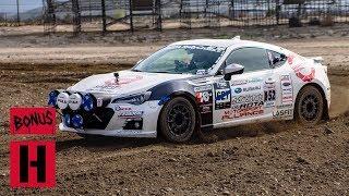 Subaru BRZ? Nelson Races Rallycross Championship RD 1!
