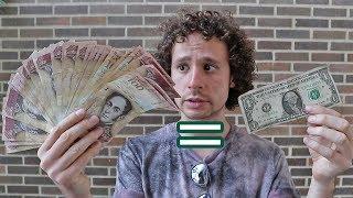 Así es el dinero en Venezuela | UN DÓLAR VALE ORO!