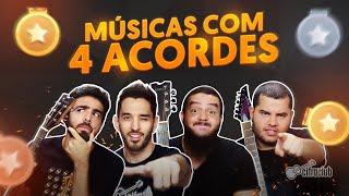 DESAFIO DOS ACORDES - com Leo, Fofão, Caico e Vinny
