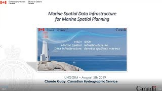 Marine Spatial Data Infrastructure for Marine Spatial Planning