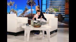 Nate Seltzer Shows Ellen His New License Plate Knowledge