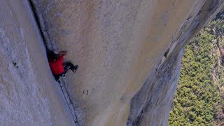 Man Climbs 3,000-ft. Wall with NO Rope!
