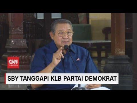 SBY soal KLB: Moeldoko dengan Darah Dingin Lakukan Kudeta