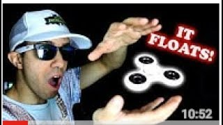 Magnet Powered Fidget Spinner FLoats Without String