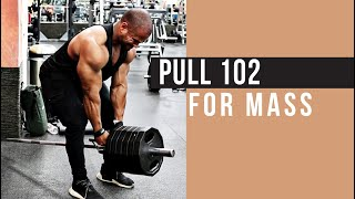 PULL 102 WORKOUT FOR MASS