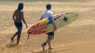 LEARNING TO SURF IN MEXICO | Hello Mexico // a van life series