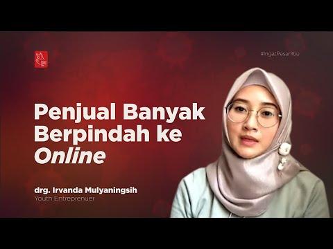 Penjual Banyak Berpindah ke Online | Katadata Indonesia