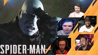Gamers Reactions to Tombstone Shooting Himself | Marvel's Spider-Man