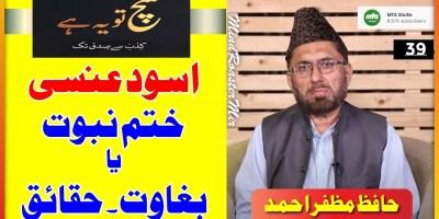 Aswad Ansi K Sath Jihad Khatme Nabuwwat Ki Waja Se Kia Gya Ya Musallah Bagawat Ki Waja Se