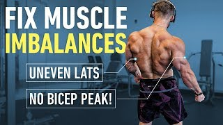 Have UNEVEN Lats, Pecs or Biceps? Watch This. (How to Fix Muscle Imbalances)
