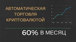 60% в месяц - БОТ для автоматической торговли криптовалютой, автоматический трейдинг 3commas