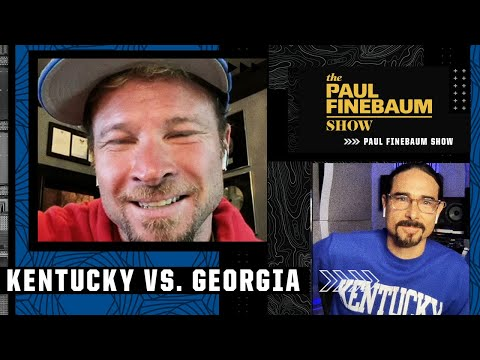 Backstreet Boys Kevin Richardson (Kentucky fan) and Brian Littrell (Georgia & UK) join Paul Finebaum