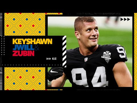 Keyshawn Johnson's thoughts on Raiders' Carl Nassib announcing he is gay   KJZ