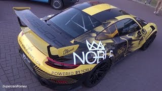 Porsche GT2 RS Weissach Wrapped in Noble Eagle Run Design!