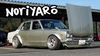Real Hakosuka drift car - owner let me drive it!
