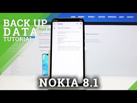How to Enable Google Backup in NOKIA 8.1 – Activate Backup Option